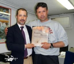 con Luís Meana