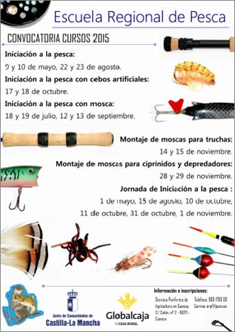 Cartel cursos Escuela Regional Cuenca 2015