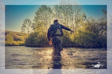 Fly fishing moments : Pisuerga River