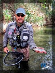 Fly fishing moments: Tajuña River