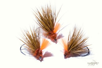Caddis Deer and CDC reddish