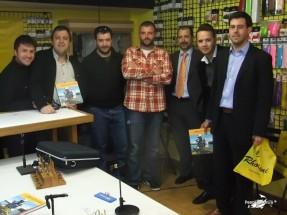 Isidro Fernández, Carlos Rubio, JC Cambronero, Carlos del Rey, Antonio, Miguel A., Carlos Garza