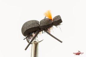 Beetle chenille ice post orange