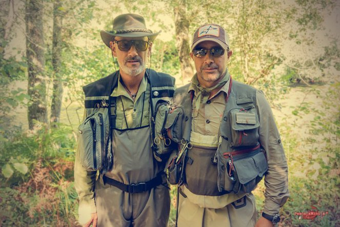 con José Mariño - Riversfly.com