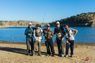 con David, Manolo, Miguel y Santi