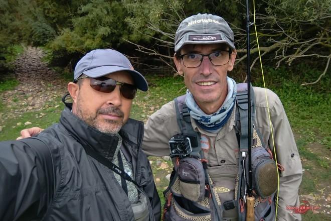 con Antonio Romero